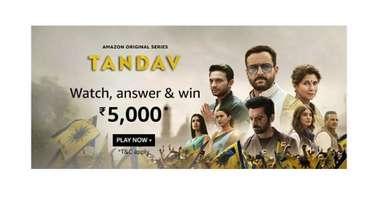 Amazon Tandav Quiz
