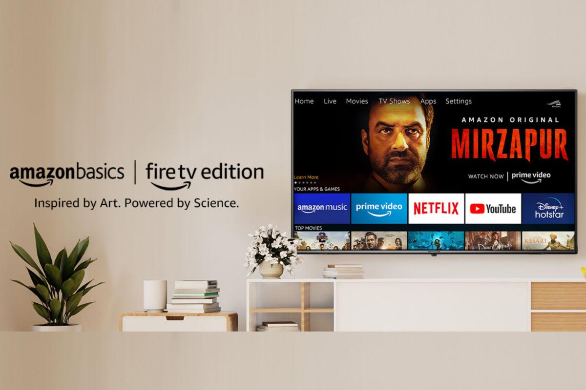 AmazonBasics Fire TV Edition UHD TV feaurred