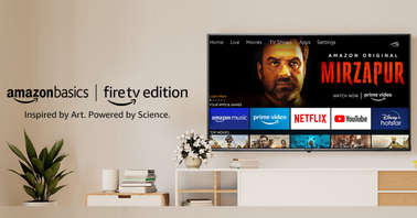 AmazonBasics Fire TV Edition UHD TV feaurred