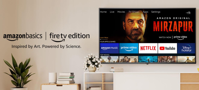 AmazonBasics Fire TV Edition UHD TV