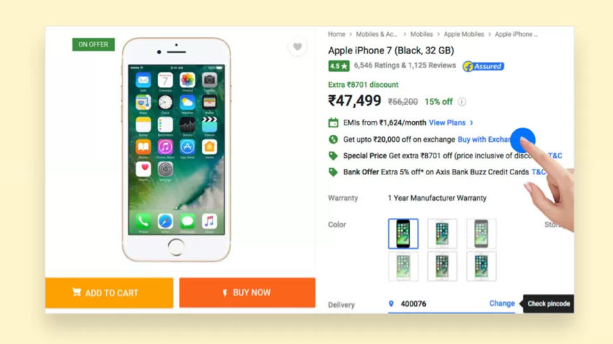 Flipkart offers easy exchange offer on smartphones