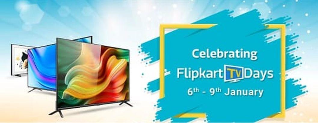 Flipkart TV Days sale