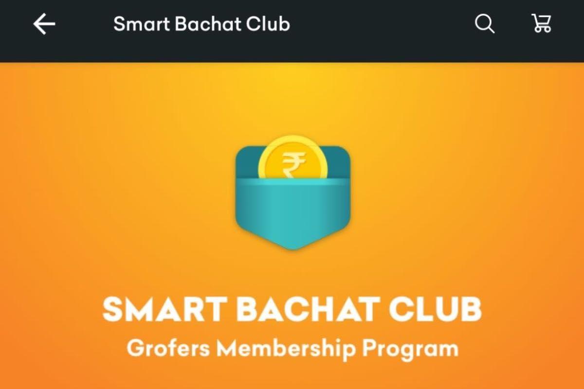 Grofers Smart Bachat Club Membership
