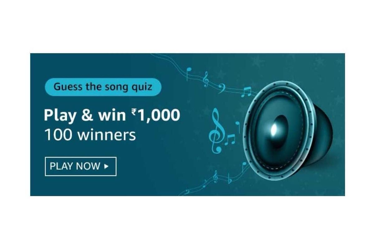 Amazon Guess The Song Quiz