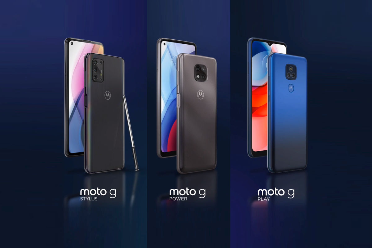 Moto G Stylus (2021), G Power (202) and G Play (2021)