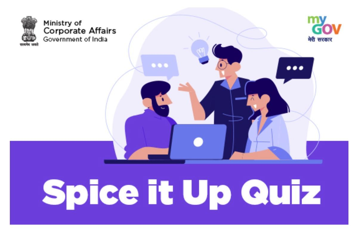 MyGov Spice it Up Quiz