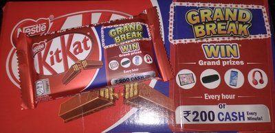 Nestle KitKat Grand Break Contest kicks off on January 15th