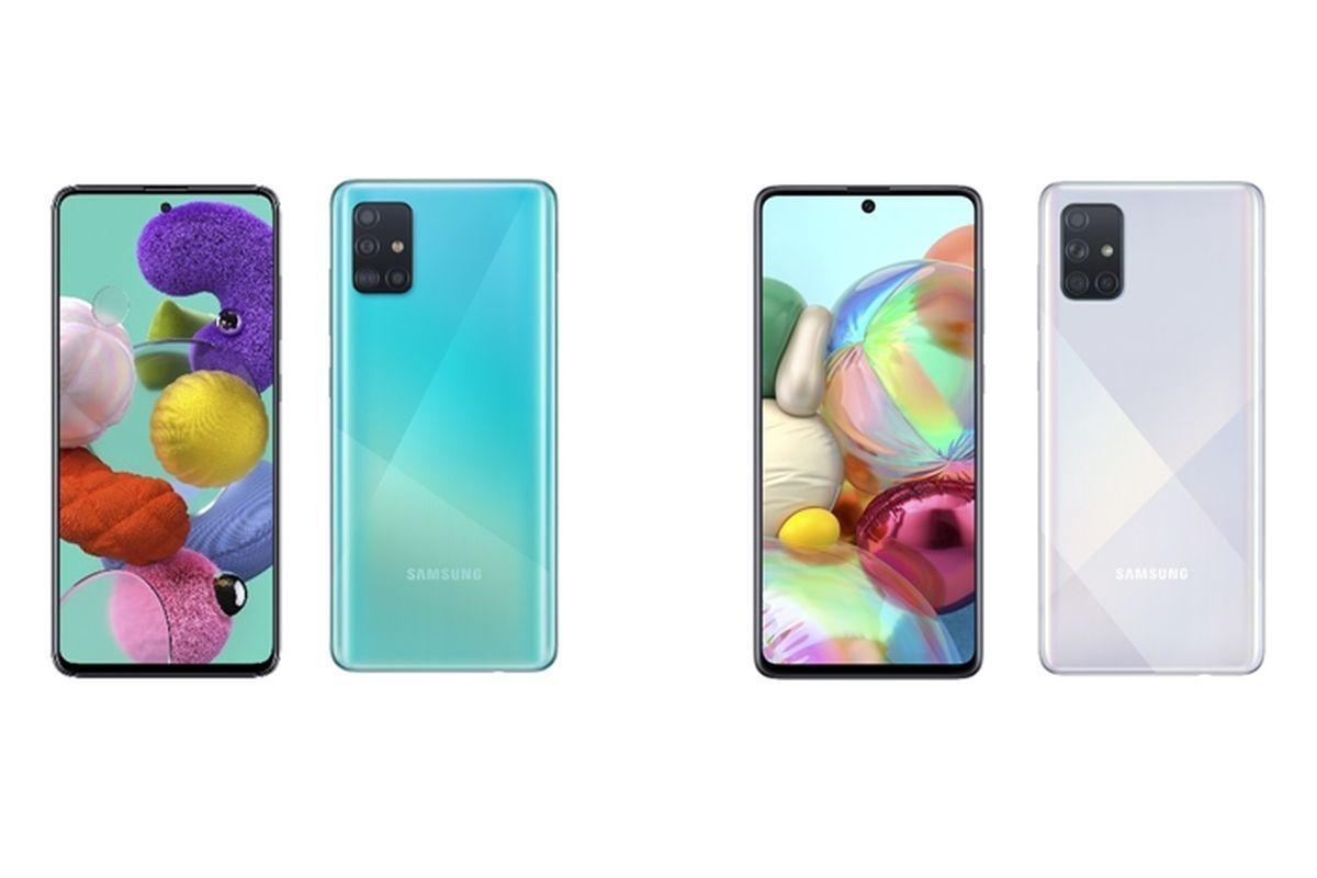 Samsung Galaxy A51 and Galaxy A71