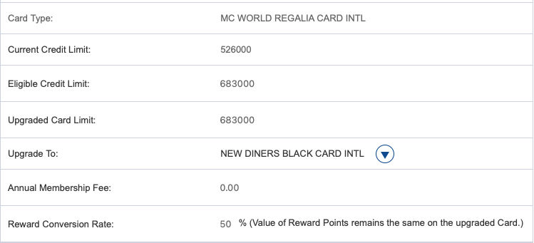 HDFC Bank is offering free upgrade to Infinia or Diners Club Black credit card to eligible users