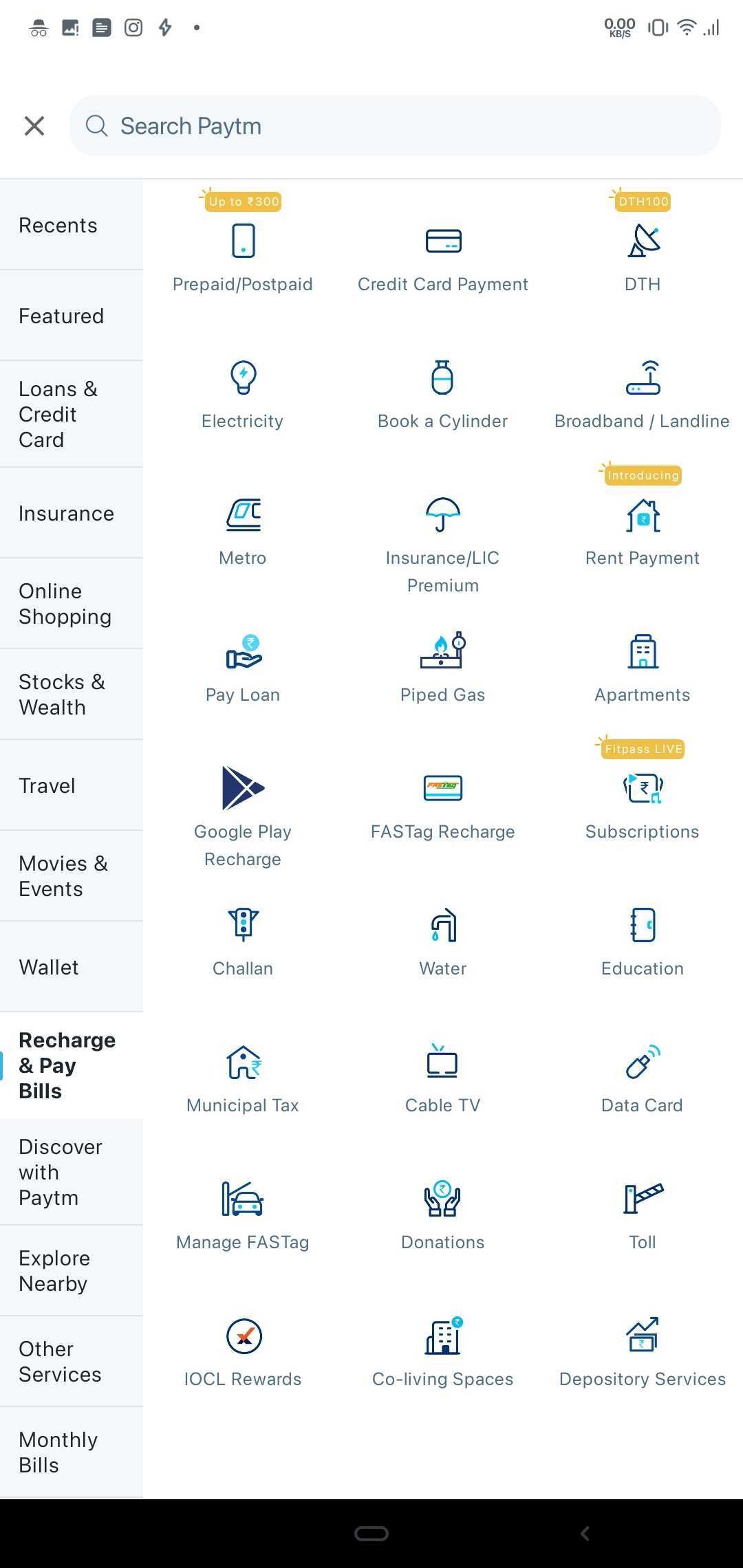 You can pay your e-Challan online using Paytm