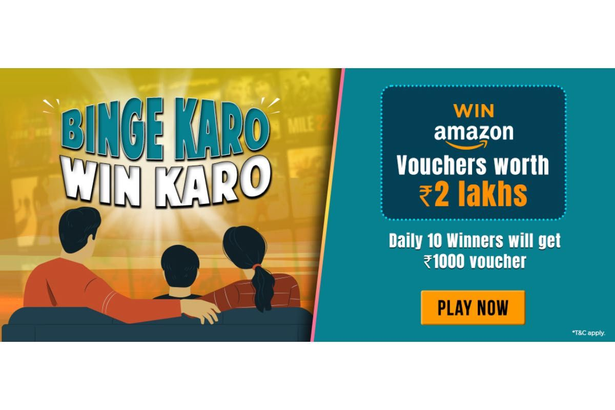 Vi Binge Karo Win Karo movies contest