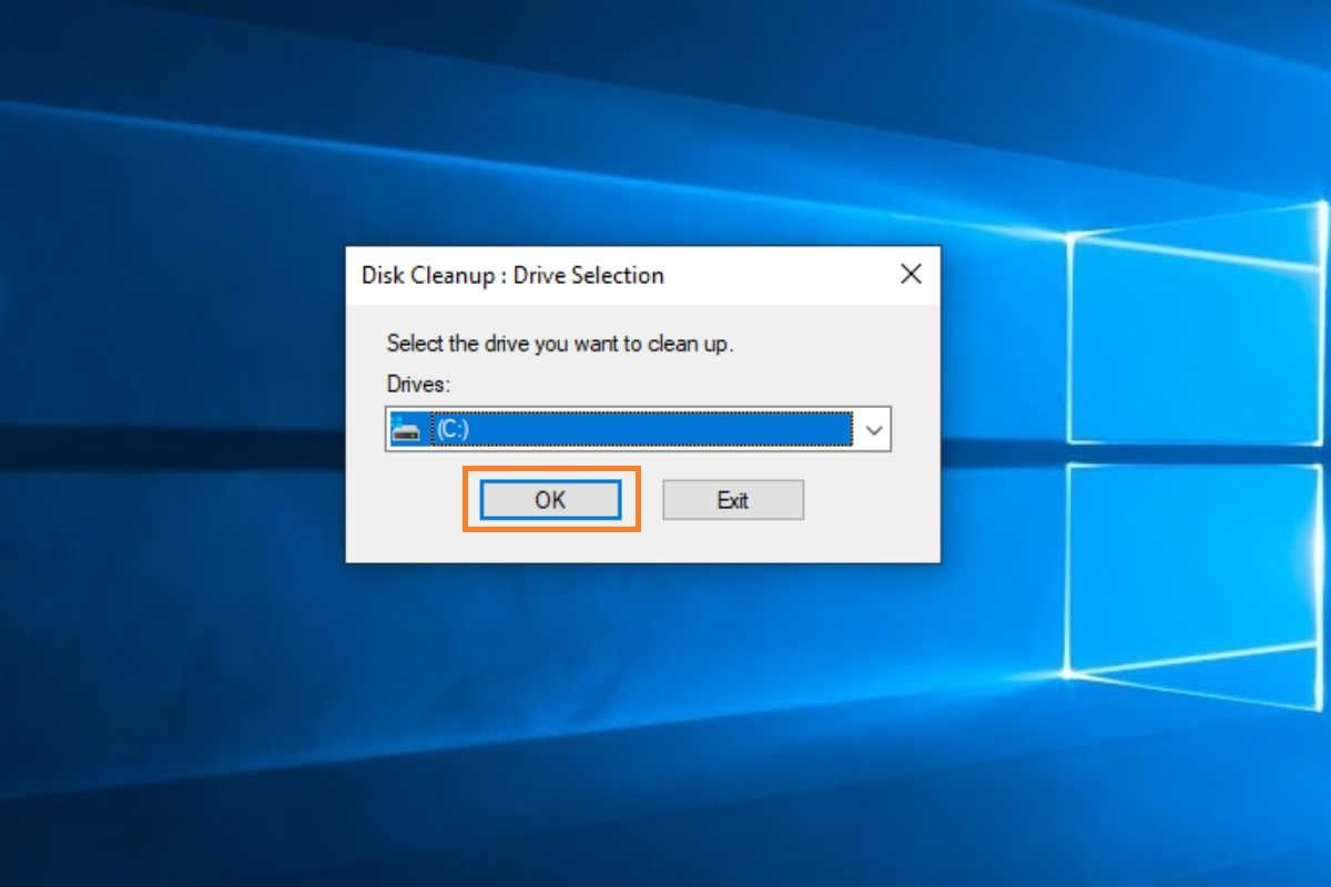 Windows 10 Disk Cleanup