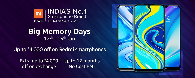 Xiaomi Big Memory Sale