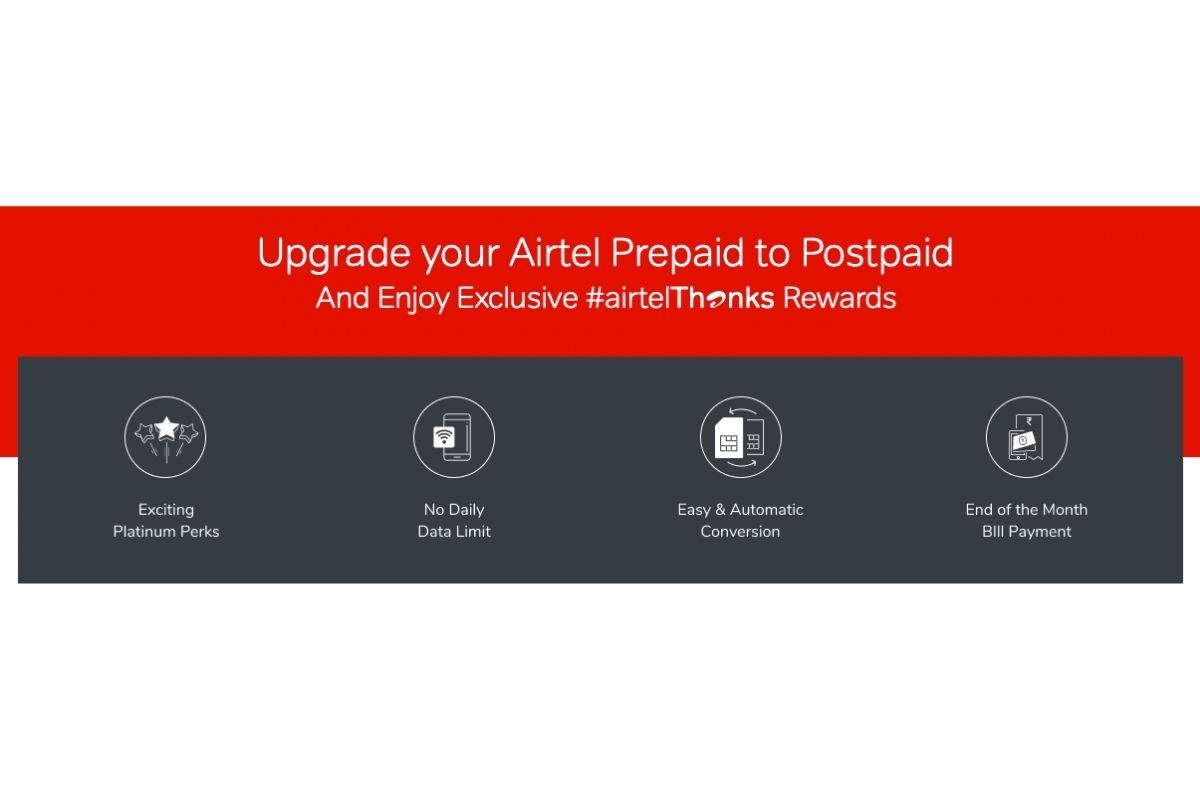 Switching from Airtel postpaid to prepaid is fairly simple