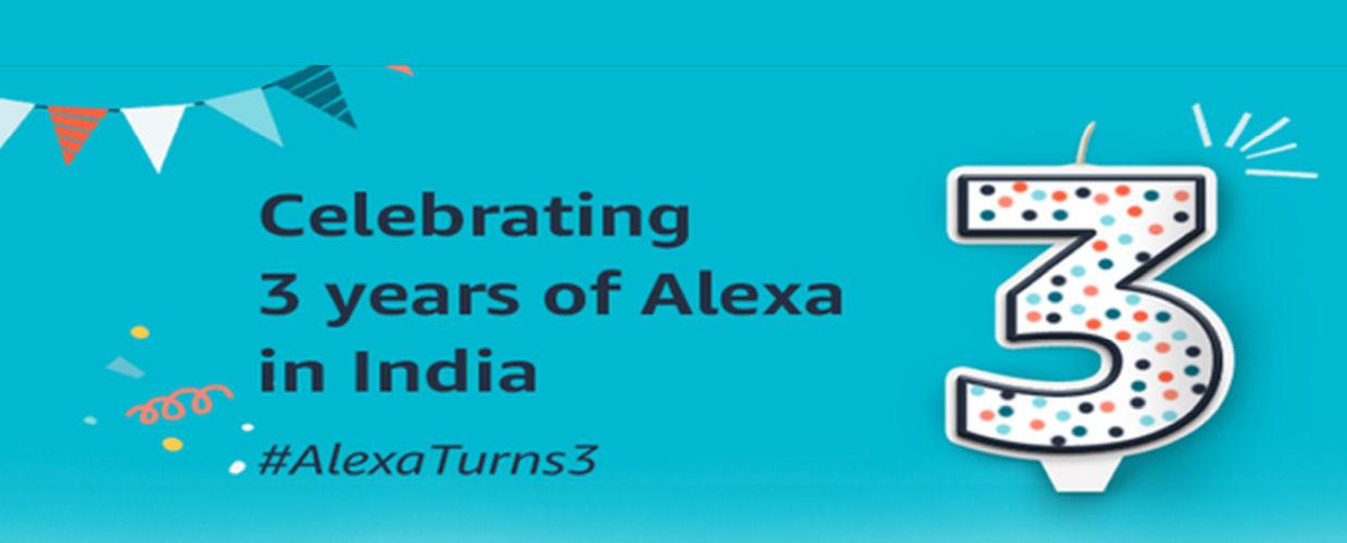 Alexa 3rd anniversary sale-