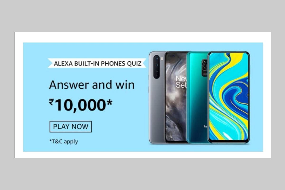 Amazon Alexa Built-in Phones Quiz