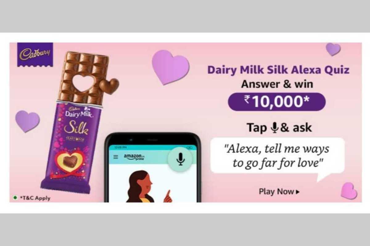 Amazon Dairy Milk Silk Alexa Quiz