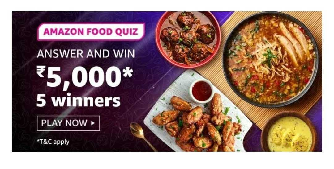 Amazon Food Quiz