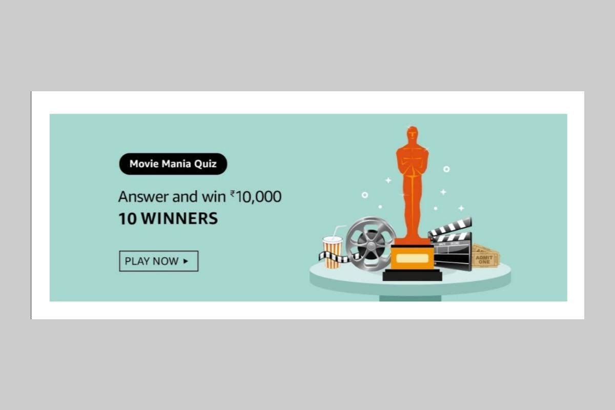 Amazon Movie Mania Quiz
