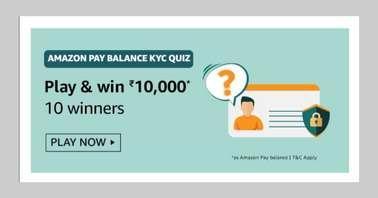 Amazon Pay Balance KYC Quiz