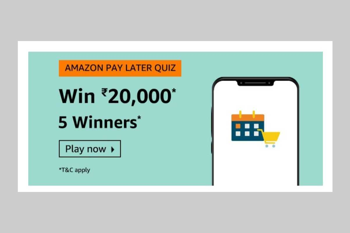 Amazon Pay Later Quiz