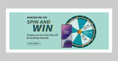 Amazon Pay UPI Spin and Win Quiz