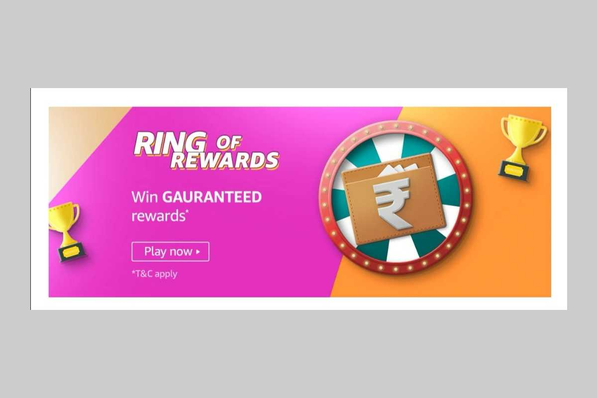 Amazon Ring of Rewards Quiz