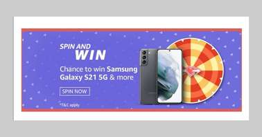 Amazon Valentine's Day Spin and Win Quiz