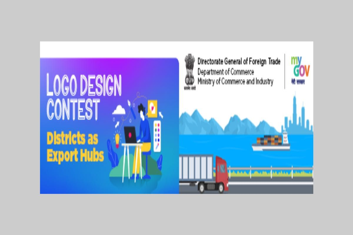 MyGov Logo Design Contest Districts As Export Hubs