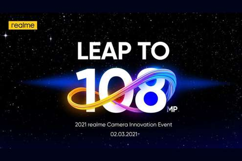 Realme to showcase 108-megapixel camera tech on March 2nd, could feature on Realme 8 series