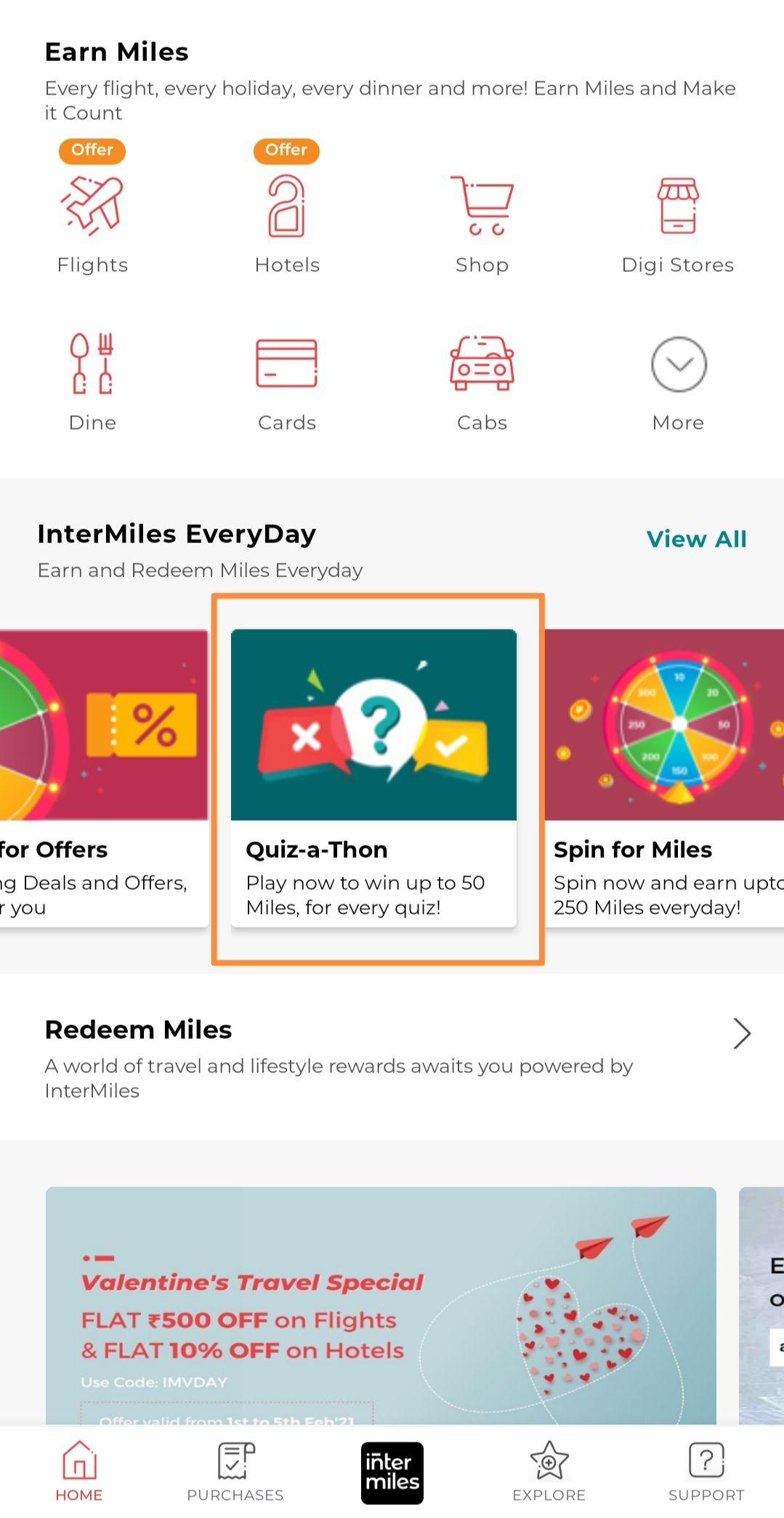 InterMiles Quiz-a-Thon