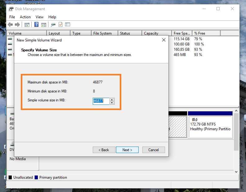 Windows 10 Partition