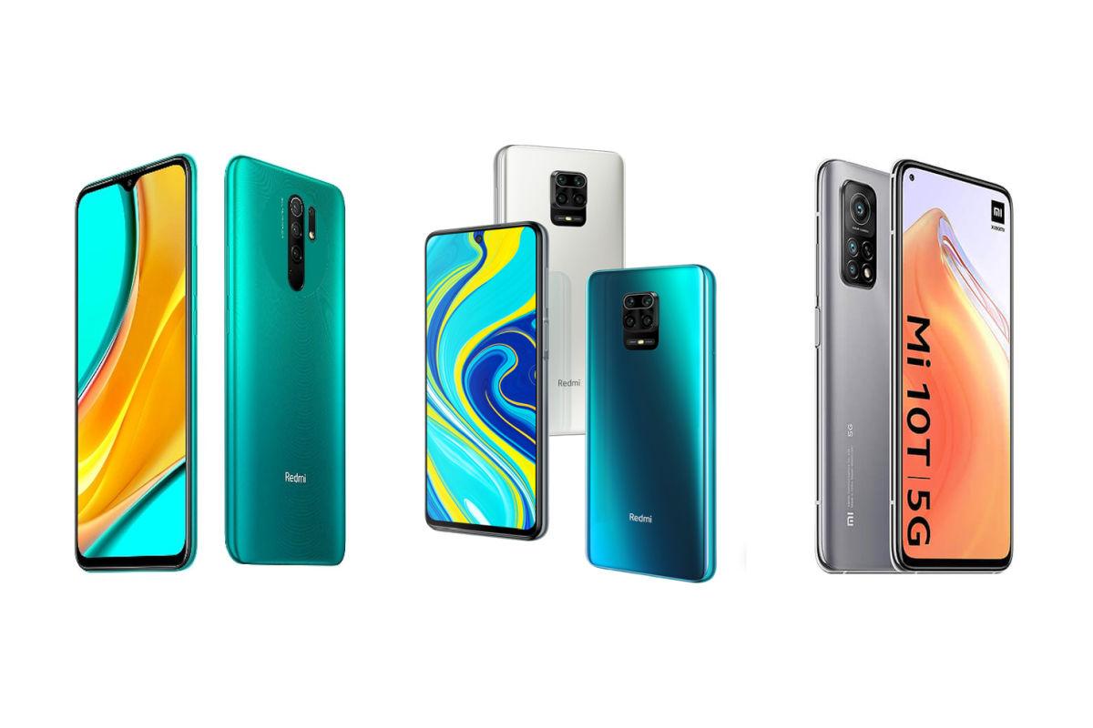 Redmi 9 Prime, Redmi Note 9 Pro, Xiaomi Mi 10T