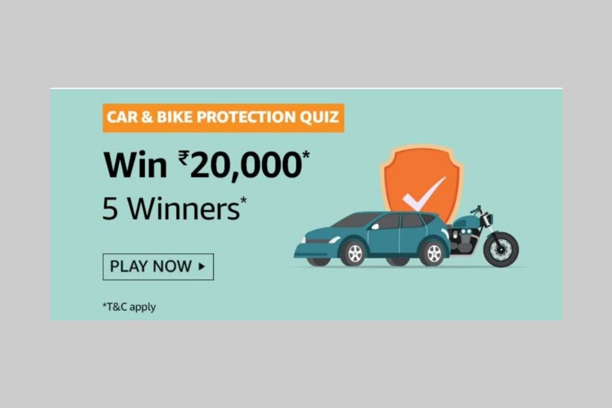 Amazon Car and Bike Protection Quiz