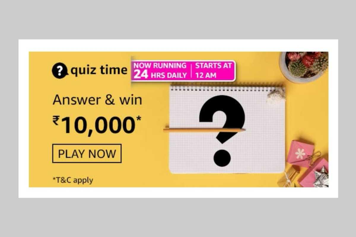 Amazon Daily Quiz