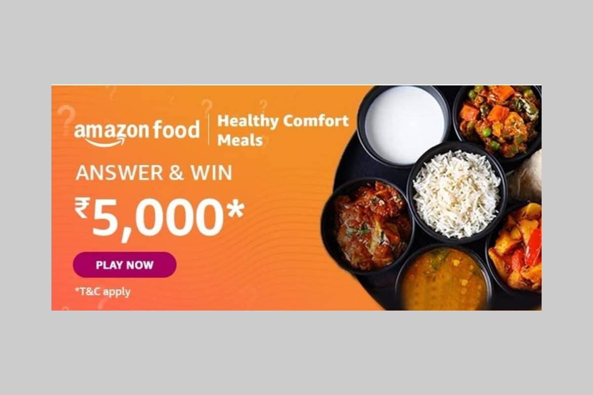 Amazon Food Healthy Comfort Meals Quiz