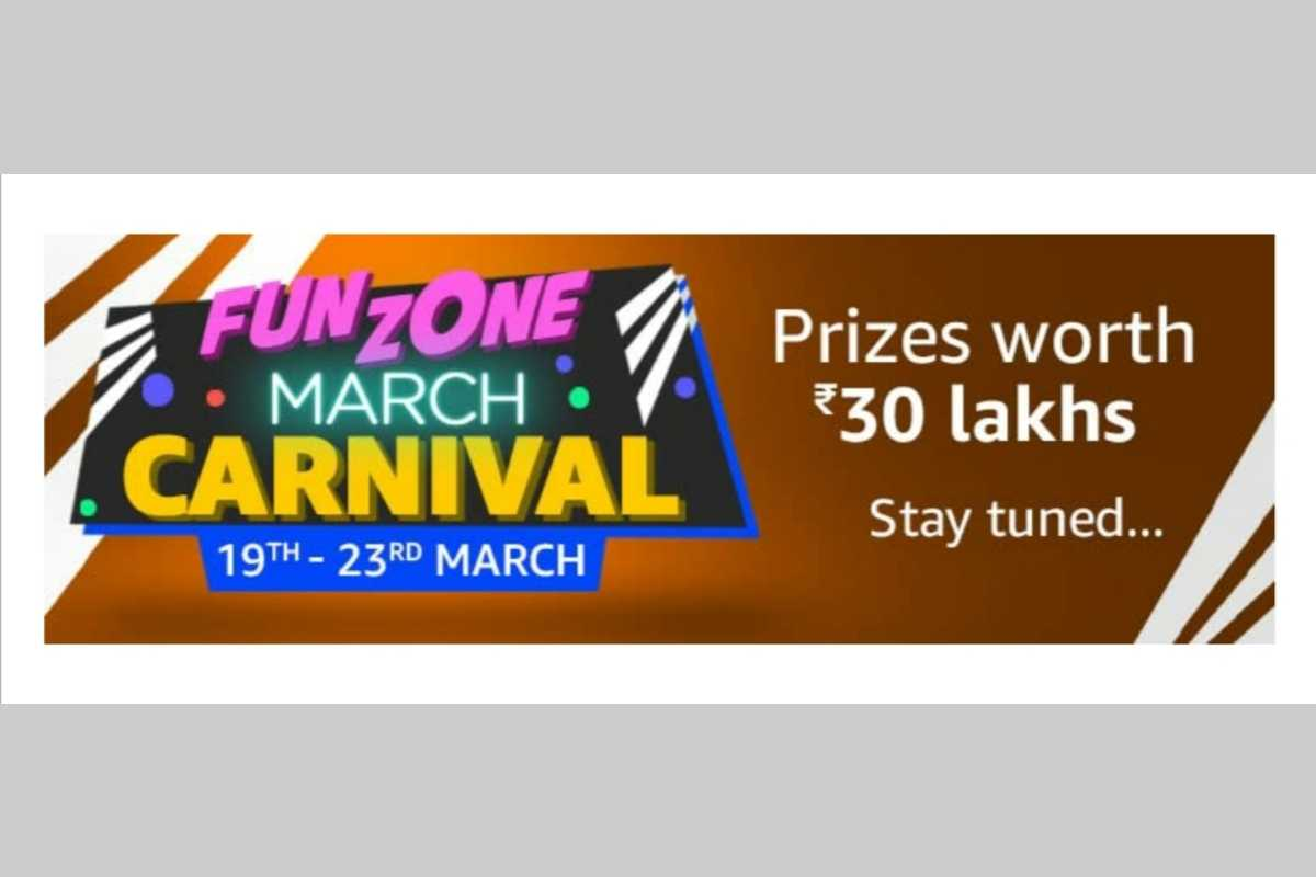 Amazon Funzone March Carnival Quiz