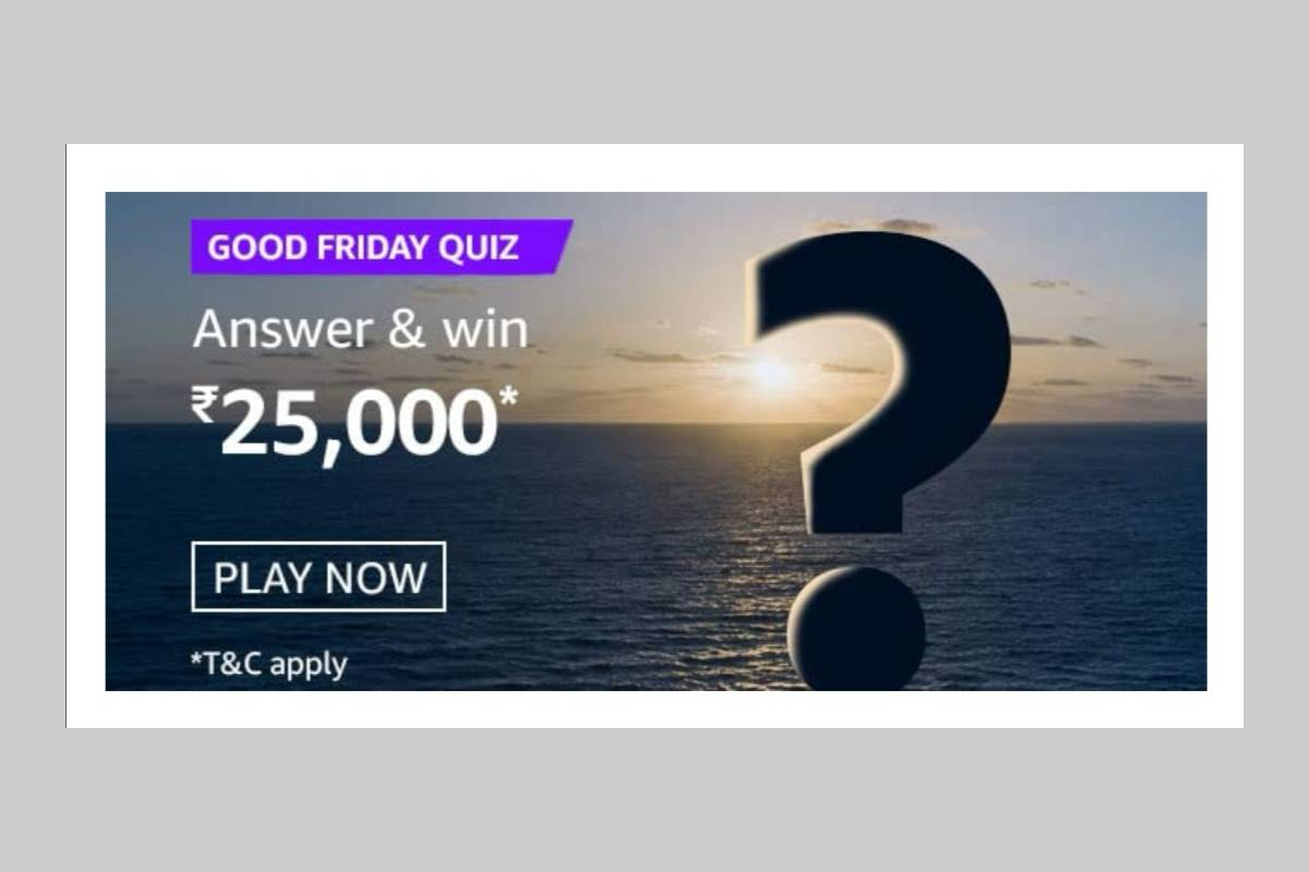 Amazon Good Friday Quiz