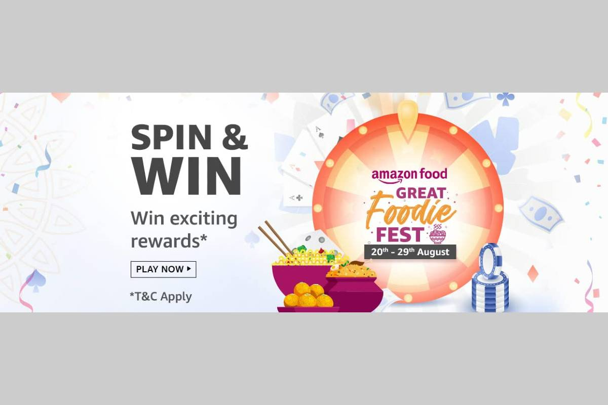 Amazon Great Foodie Fest Spin and Win Quiz