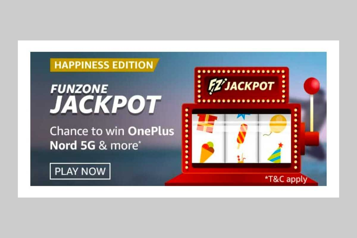 Amazon Happiness Edition Funzone Jackpot Quiz