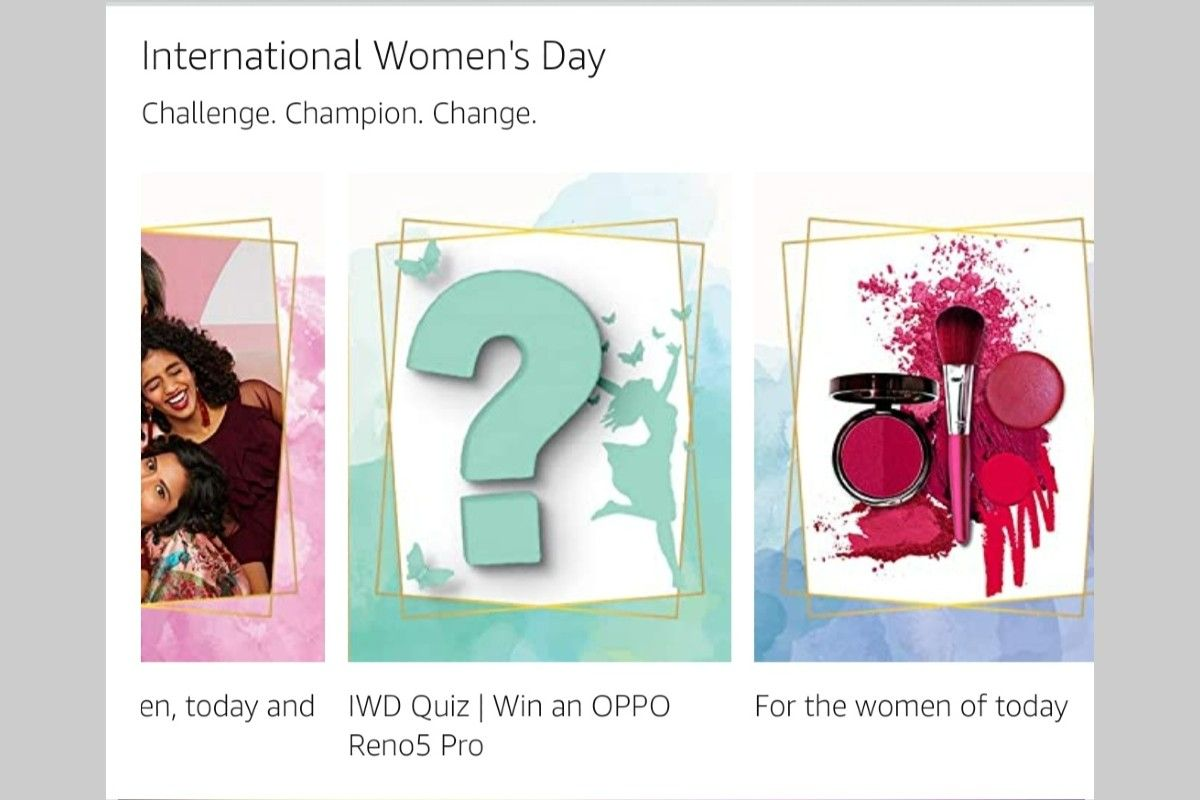 Amazon International Women's Day Quiz