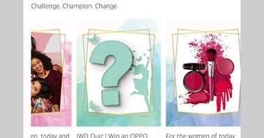 Amazon International Women's Day Quiz