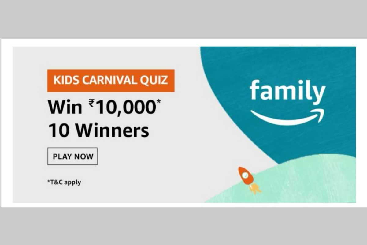 Amazon Kids Carnival Quiz