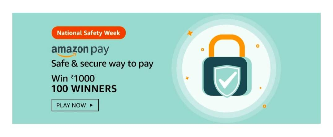 Amazon National Safety Week Quiz