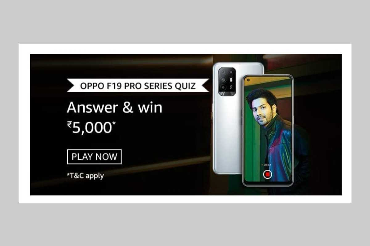 Amazon OPPO F19 Pro Series Quiz