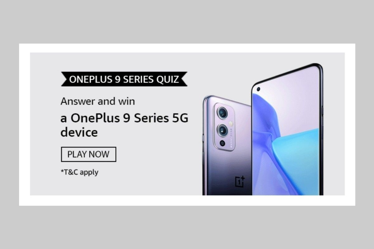 Amazon OnePlus 9 Series Quiz
