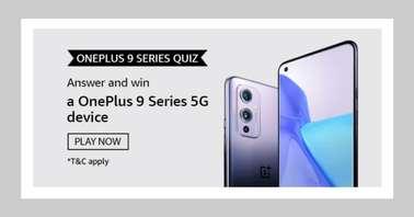 Amazon OnePlus 9 Series Quiz