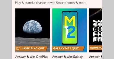 Amazon OnePlus 9 Series Hasselblad Quiz