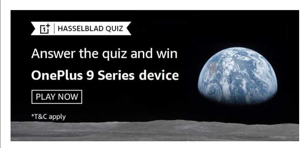 Amazon OnePlus Hasselblad Quiz Featured
