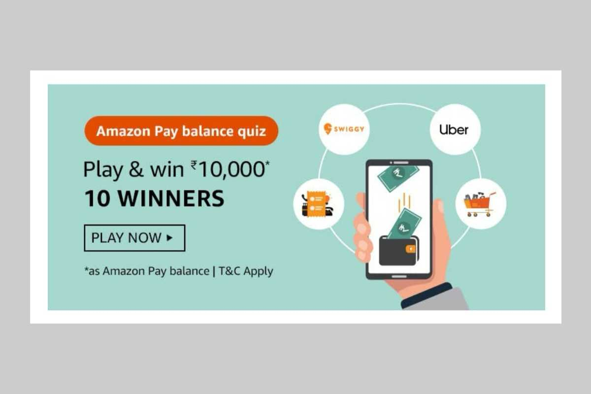 Amazon Pay Balance Quiz